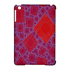 Voronoi Diagram Apple iPad Mini Hardshell Case (Compatible with Smart Cover)