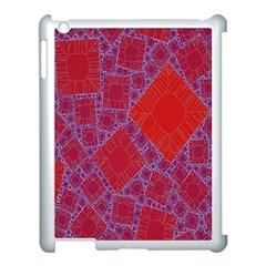 Voronoi Diagram Apple iPad 3/4 Case (White)