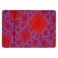 Voronoi Diagram Samsung Galaxy Tab 8.9  P7300 Flip Case