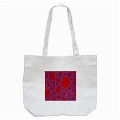 Voronoi Diagram Tote Bag (White)