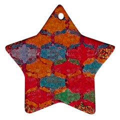 Abstract Art Pattern Ornament (Star)