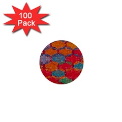 Abstract Art Pattern 1  Mini Buttons (100 pack)