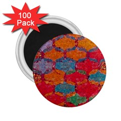 Abstract Art Pattern 2.25  Magnets (100 pack)