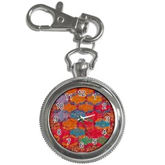 Abstract Art Pattern Key Chain Watches