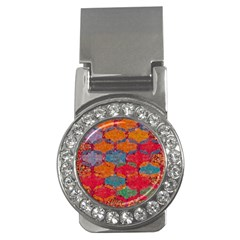 Abstract Art Pattern Money Clips (CZ)