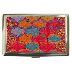 Abstract Art Pattern Cigarette Money Cases
