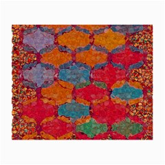 Abstract Art Pattern Small Glasses Cloth