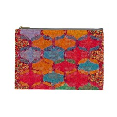 Abstract Art Pattern Cosmetic Bag (large)