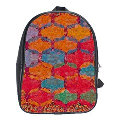 Abstract Art Pattern School Bags(large)