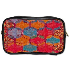 Abstract Art Pattern Toiletries Bags