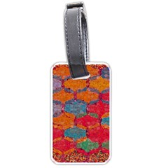 Abstract Art Pattern Luggage Tags (one Side)