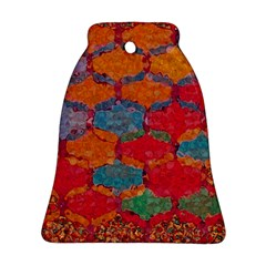 Abstract Art Pattern Bell Ornament (two Sides)