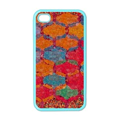 Abstract Art Pattern Apple iPhone 4 Case (Color)