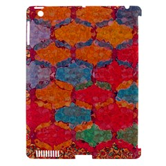 Abstract Art Pattern Apple iPad 3/4 Hardshell Case (Compatible with Smart Cover)