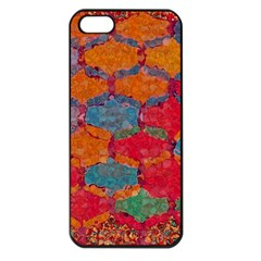 Abstract Art Pattern Apple iPhone 5 Seamless Case (Black)