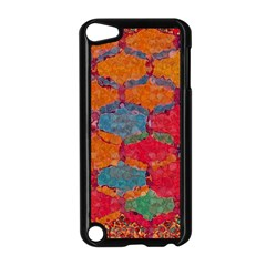 Abstract Art Pattern Apple iPod Touch 5 Case (Black)