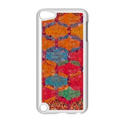 Abstract Art Pattern Apple iPod Touch 5 Case (White)
