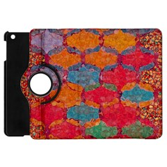 Abstract Art Pattern Apple iPad Mini Flip 360 Case