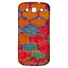 Abstract Art Pattern Samsung Galaxy S3 S III Classic Hardshell Back Case