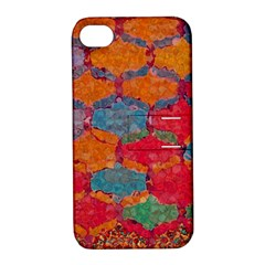 Abstract Art Pattern Apple iPhone 4/4S Hardshell Case with Stand