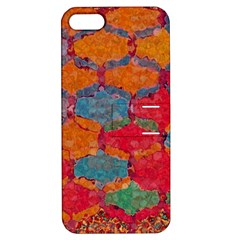 Abstract Art Pattern Apple iPhone 5 Hardshell Case with Stand