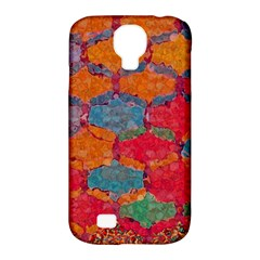 Abstract Art Pattern Samsung Galaxy S4 Classic Hardshell Case (PC+Silicone)