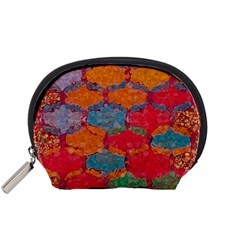 Abstract Art Pattern Accessory Pouches (small)