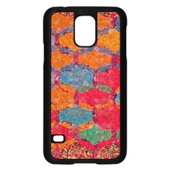 Abstract Art Pattern Samsung Galaxy S5 Case (Black)