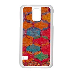 Abstract Art Pattern Samsung Galaxy S5 Case (White)