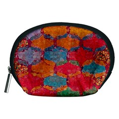 Abstract Art Pattern Accessory Pouches (Medium)