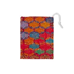 Abstract Art Pattern Drawstring Pouches (Small)