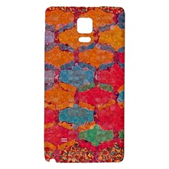 Abstract Art Pattern Galaxy Note 4 Back Case
