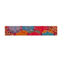 Abstract Art Pattern Flano Scarf (Mini)