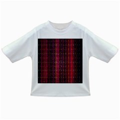 Colorful And Glowing Pixelated Pixel Pattern Infant/Toddler T-Shirts