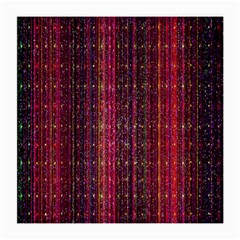 Colorful And Glowing Pixelated Pixel Pattern Medium Glasses Cloth (2-Side)