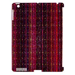 Colorful And Glowing Pixelated Pixel Pattern Apple iPad 3/4 Hardshell Case (Compatible with Smart Cover)