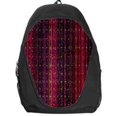 Colorful And Glowing Pixelated Pixel Pattern Backpack Bag