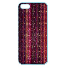Colorful And Glowing Pixelated Pixel Pattern Apple Seamless iPhone 5 Case (Color)