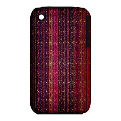 Colorful And Glowing Pixelated Pixel Pattern iPhone 3S/3GS