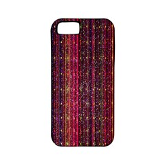 Colorful And Glowing Pixelated Pixel Pattern Apple iPhone 5 Classic Hardshell Case (PC+Silicone)