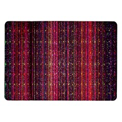 Colorful And Glowing Pixelated Pixel Pattern Samsung Galaxy Tab 10 1  P7500 Flip Case