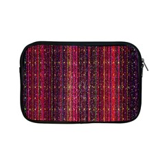 Colorful And Glowing Pixelated Pixel Pattern Apple iPad Mini Zipper Cases