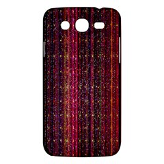 Colorful And Glowing Pixelated Pixel Pattern Samsung Galaxy Mega 5.8 I9152 Hardshell Case