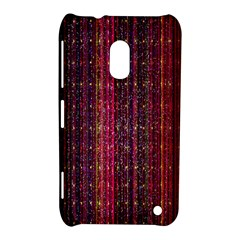 Colorful And Glowing Pixelated Pixel Pattern Nokia Lumia 620