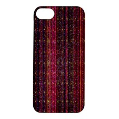 Colorful And Glowing Pixelated Pixel Pattern Apple iPhone 5S/ SE Hardshell Case