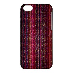 Colorful And Glowing Pixelated Pixel Pattern Apple Iphone 5c Hardshell Case