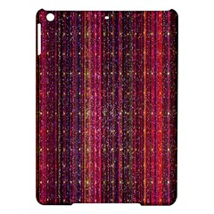 Colorful And Glowing Pixelated Pixel Pattern iPad Air Hardshell Cases