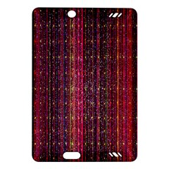 Colorful And Glowing Pixelated Pixel Pattern Amazon Kindle Fire HD (2013) Hardshell Case