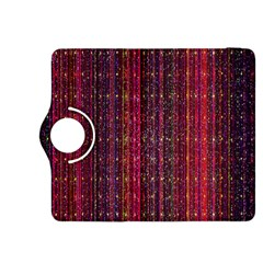 Colorful And Glowing Pixelated Pixel Pattern Kindle Fire HDX 8.9  Flip 360 Case
