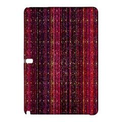 Colorful And Glowing Pixelated Pixel Pattern Samsung Galaxy Tab Pro 10.1 Hardshell Case